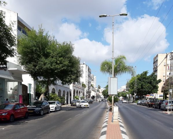 רחוב ויצמן כפר סבא