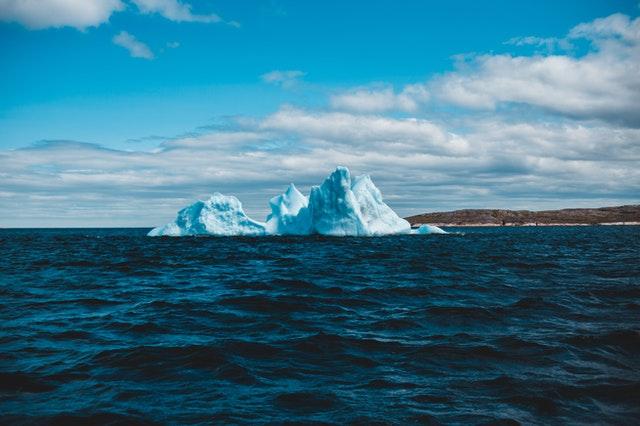 התנתקות קרחונים בקוטב הצפוני
