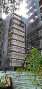 אחד מאתרי הבנייה שנבדקו
