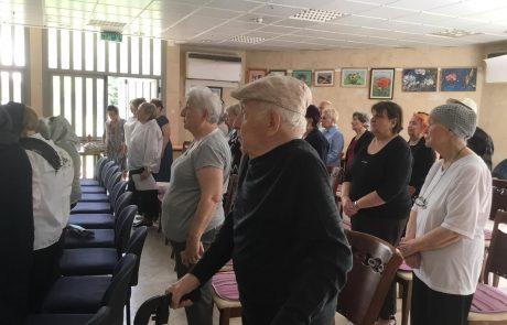 יום הזיכרון לחללי מערכות ישראל ויום העצמאות למדינה צוינו בבית גיל הזהב הדרים בעיר כפר סבא