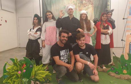 יוזמה חדשה:בני נוער מהעיר יופיעובהתנדבות בהפקות תיאטרון חינמיות לתושבים