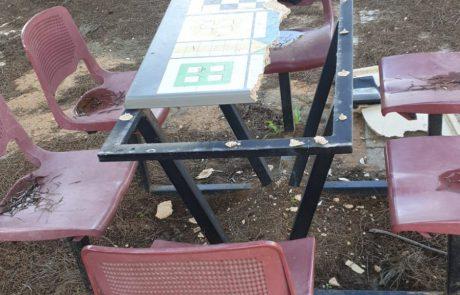 ונדליזם חמור בבית הספר רמז בכפר סבא