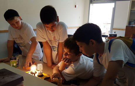 """500,000 אלף ק""""ג של גזים רעילים נחסכו בזכות פעולות תלמידים מכפר סבא"""