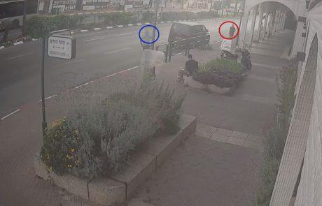 צפו: הנהג נכנס למאפיה והשאיר את הרכב מונע – תוך שניות הרכב נגנב