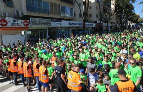 """למעלה מ- 10,000 ספורטאים מקצוענים, חובבים ותושבים השתתפו במרוץ כפר סבא ה- 29 ע""""ש רס""""ל זיו בלאלי ז""""ל"""