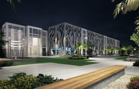 מרכז האירועים החדשVALLEY: למעלה מ-13 מטרים של בנייה ירוקה