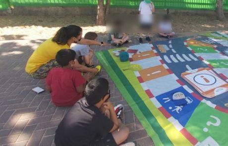 עמותת אור ירוק בכפר סבא מציגה: חוויית בטיחות בדרכים לילדים