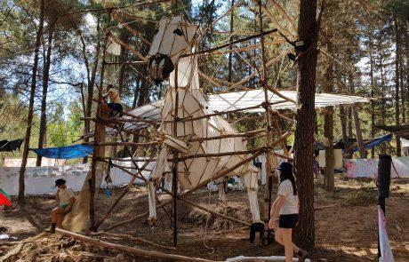 """מאות חניכים כפר סבאים השתתפו במחנה הקיץ של תנועת """"הצופים"""""""