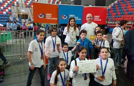 3 בתי ספר בכפר סבא זכו בתחרות הרובוטיקה הארצית