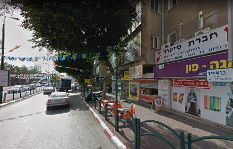 עיריית כפר סבא מוציאה לפועל תכנית להחייאת רחוב ויצמן