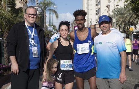 למעלה מ-10,000 רצים השתתפו במירוץ כפר סבא בסימן 70 שנה למדינה