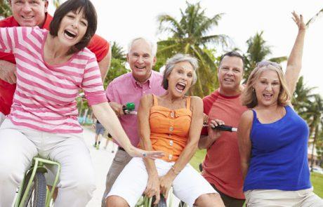 כל גיל מתאים – סדנת צחוק למבוגרים